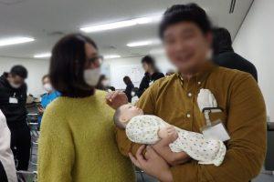 川崎市助産師会両親学級に参加された方々
